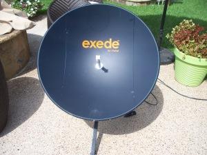 .85M Carbon Fiber Exede Satellite Dish